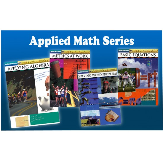 Applied Math Series Bundle: 4-Book Set