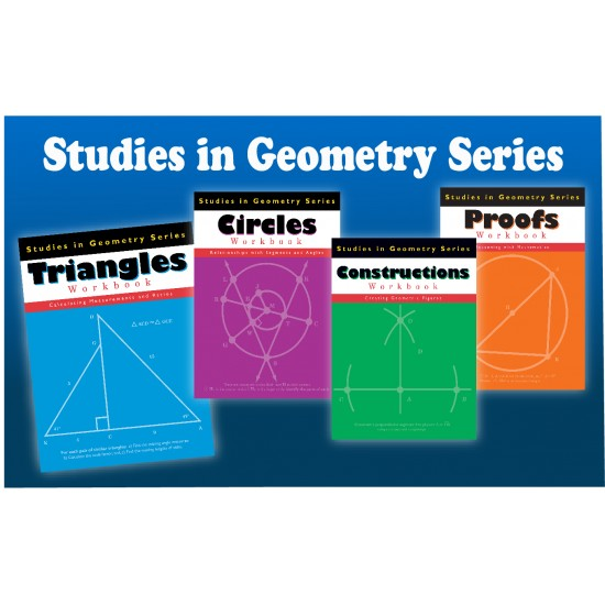 Studies in Geometry Bundle: 4-Book Set