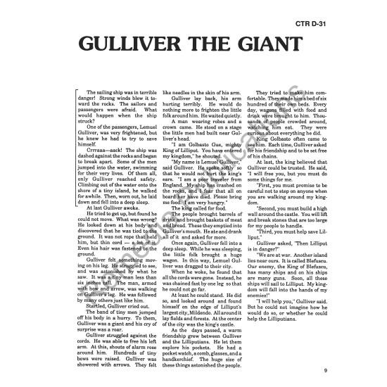High-Interest/Low Readability Classics: Gulliver's Travels