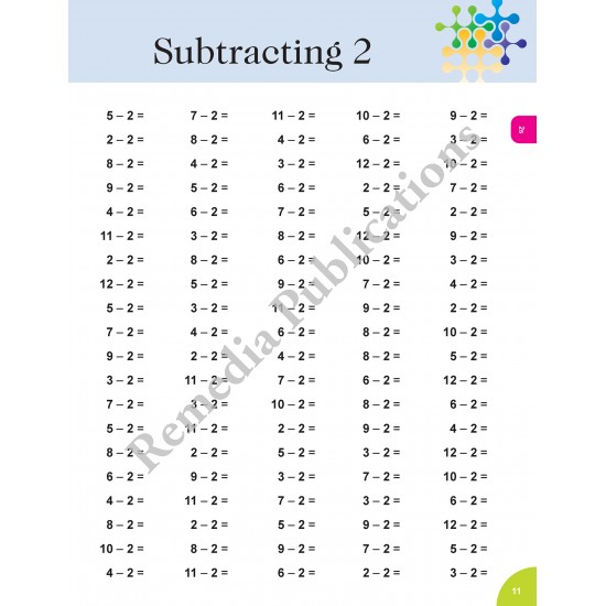 Subtraction: Straight Forward Math Series