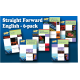 Straight Forward English Series Bundle (6-book set)