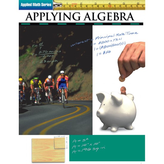 Applying Algebra: Applied Math Series