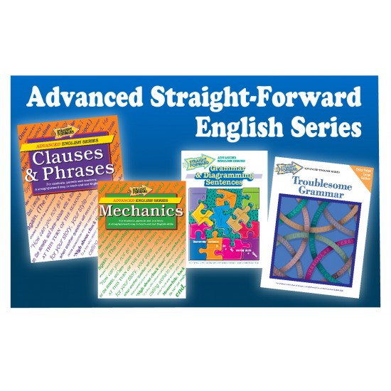 Advanced Straight Forward English Series: 4-Book Set