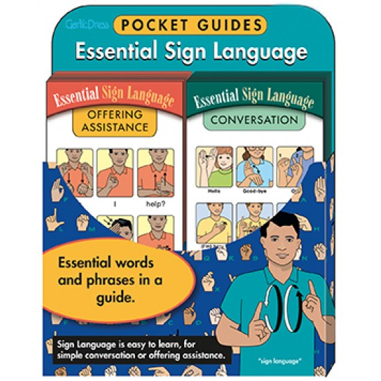 Essential Sign Language Card Bundle Set