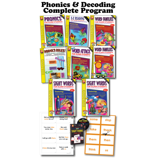 Phonics & Decoding (Complete Program)