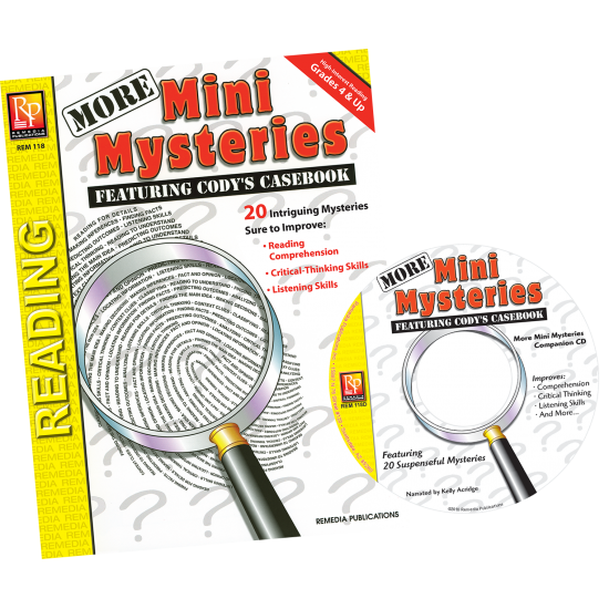 More Mini Mysteries (Book & Audio CD)