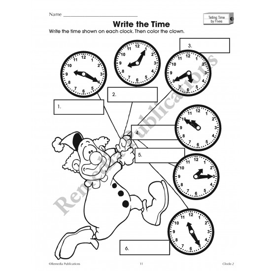 Clocks and Calendars: Time Concepts Bundle