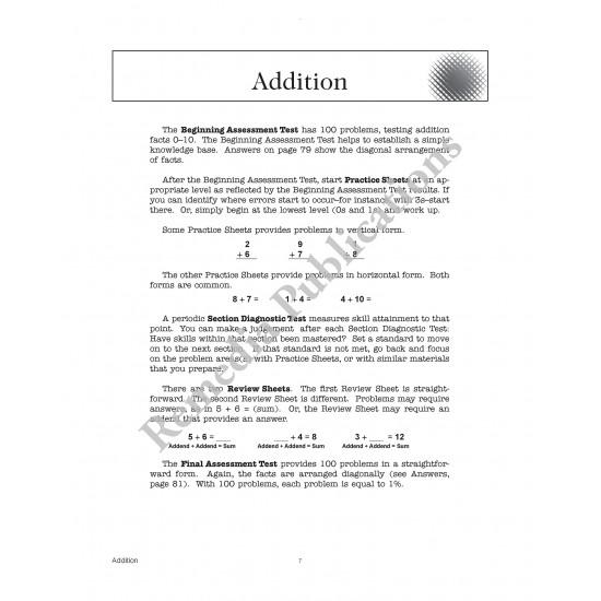 Basic Computational Skills: Straight Forward Math Series