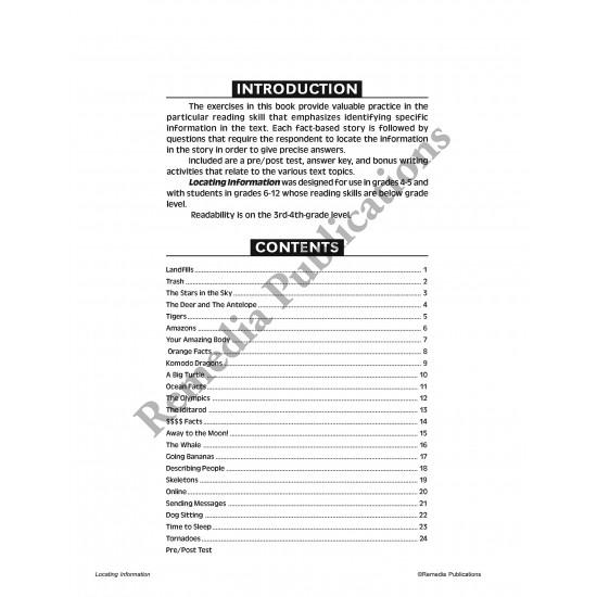 Specific Skills Series: Locating Information