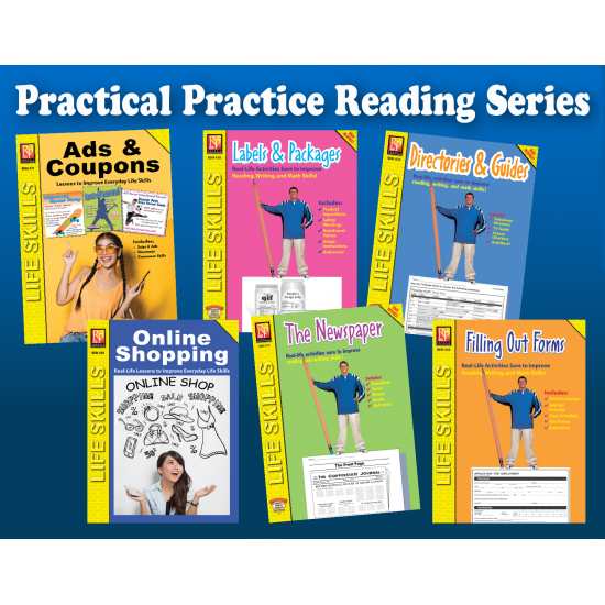 Practical Practice Reading (6-Book Set)