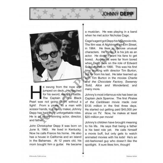 Celebrity Readers: Famous Actors