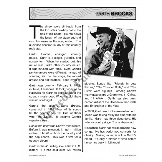 Celebrity Readers: Famous Male Musicians