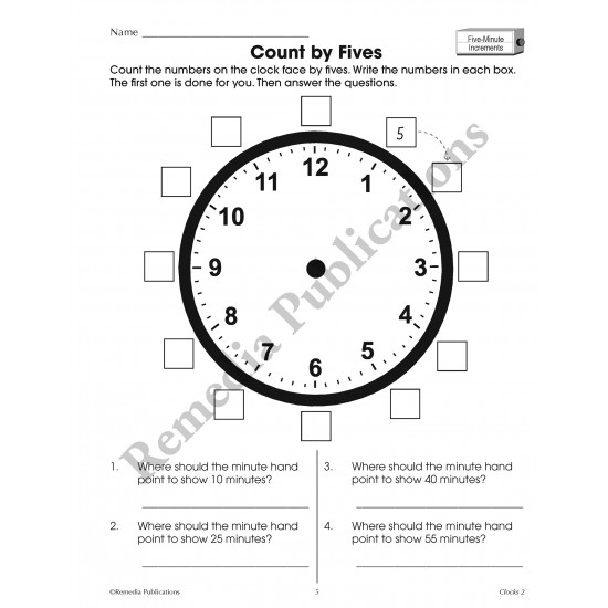 Time Concepts Series: Clocks (Grades 3-5)