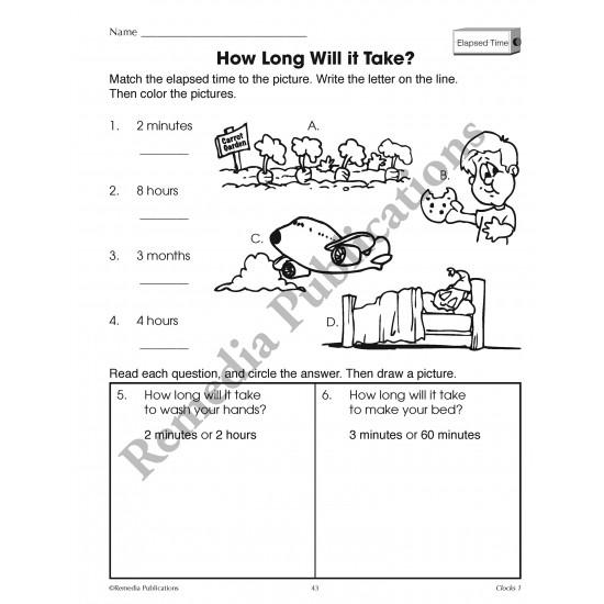 Time Concepts Series: Clocks (Grades 1-3)