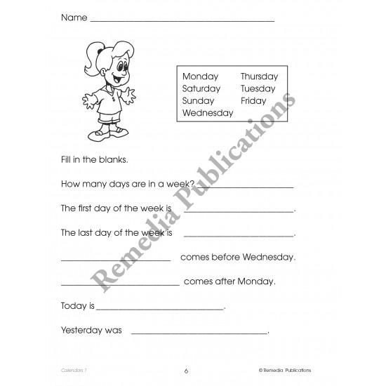 Calendars (Grades 1-3)