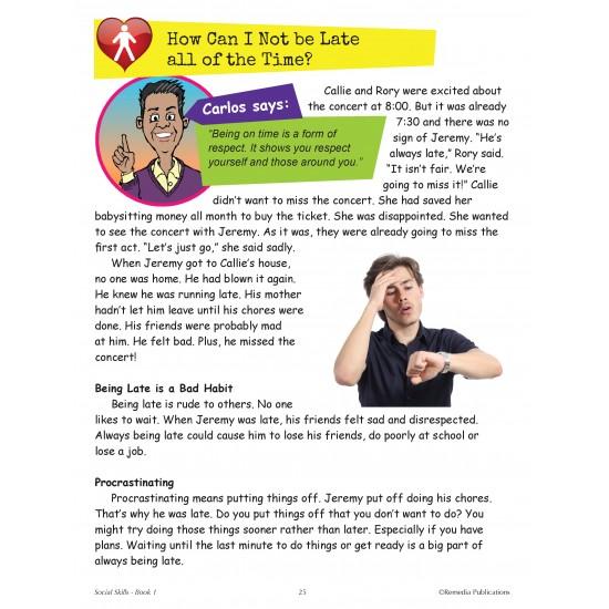 Real-World Skills: Social Skills - Improving Behavior (book 1)