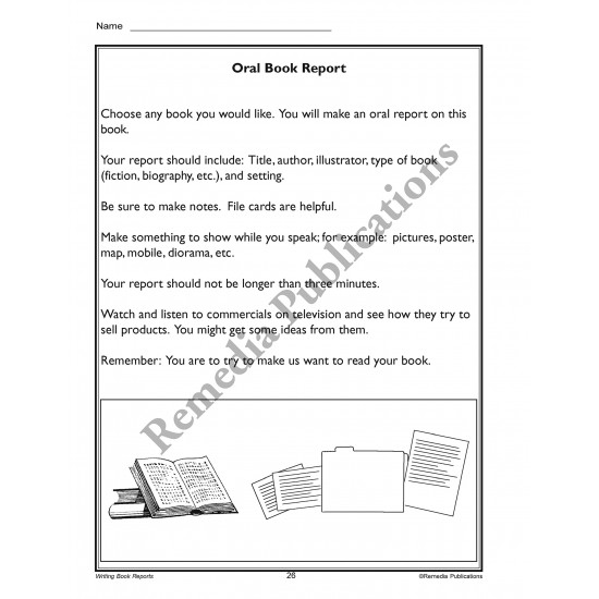 Writing Basics Series: Writing Book Reports