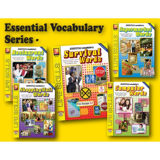 Essential Vocabulary Series (5-Book Set)