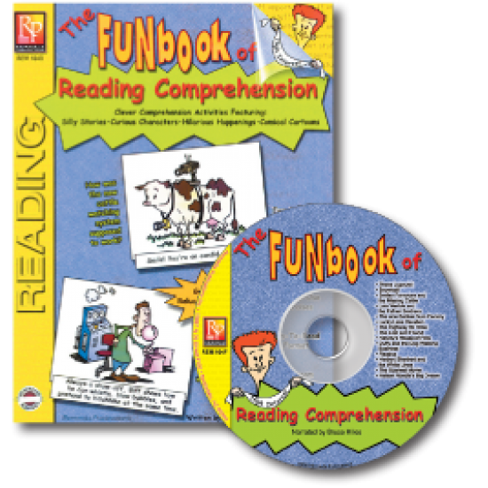 FUNbook of Reading Comprehension (Book & Audio CD Set)