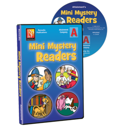 Mini Mystery Readers Software (5-User)