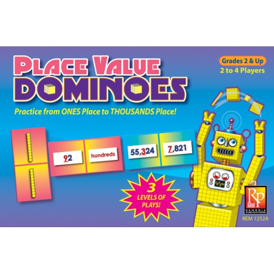 Place Value Dominoes Game