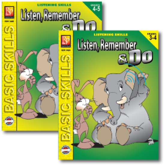 Listen, Remember, & Do (2-Book Set)