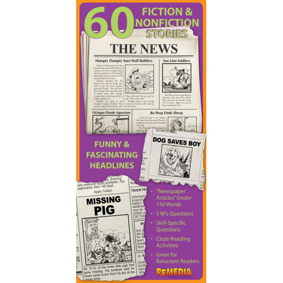 5 W's Fiction & Nonfiction (Binder & Resource CD)