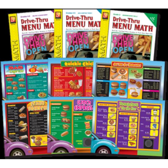 Drive-Thru Menu Math: Classroom Pack