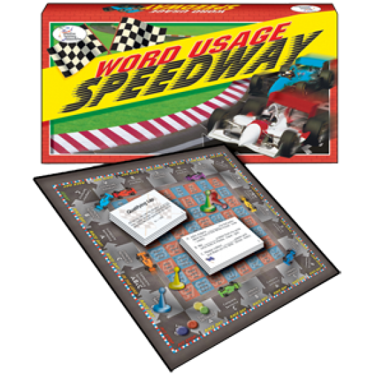 Word Usage Speedway Game