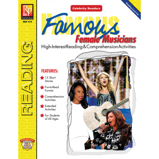 Celebrity Readers: Famous Female Musicians