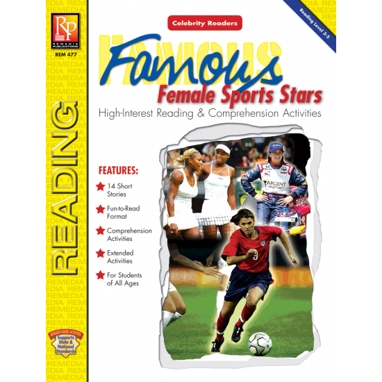 Celebrity Readers: Famous Female Sports Stars