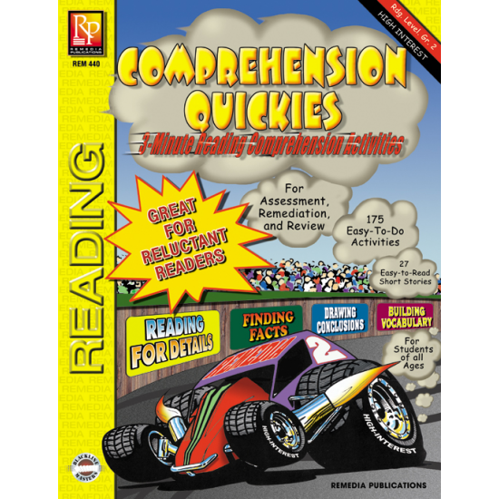 Comprehension Quickies (Reading Level 2)