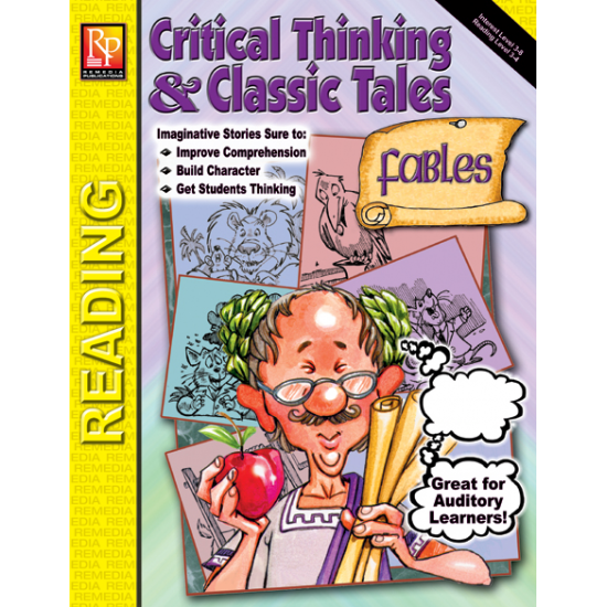 Critical Thinking & Classic Tales: Fables (Book & Audio CD)