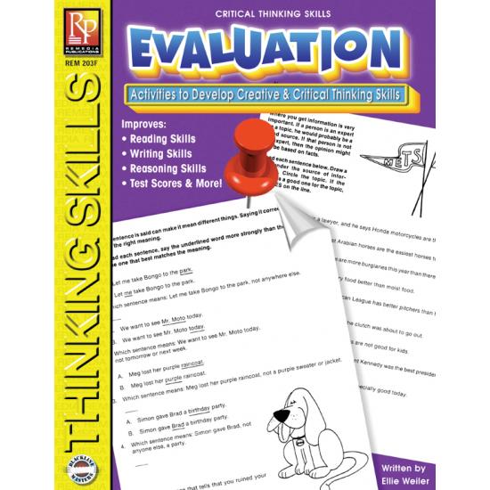Critical Thinking Skills: Evaluation