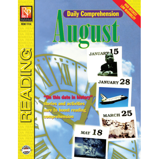Daily Comprehension: August