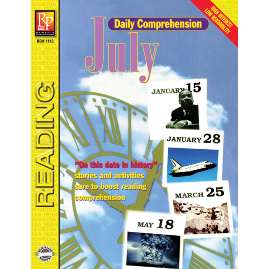 Daily Comprehension: July