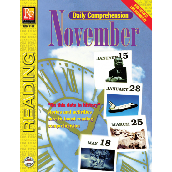 Daily Comprehension: November