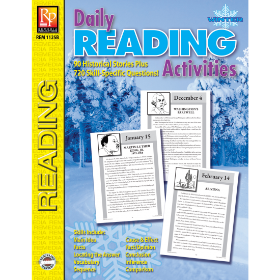 Daily Reading Activities: Winter