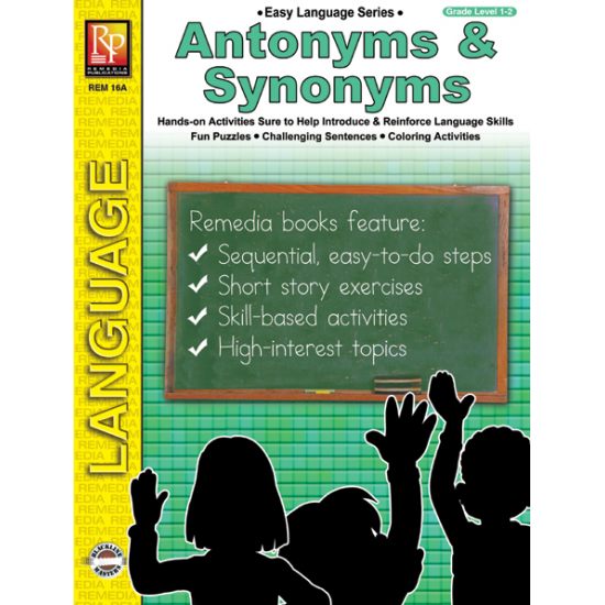 Easy Language Series: Antonyms & Synonyms