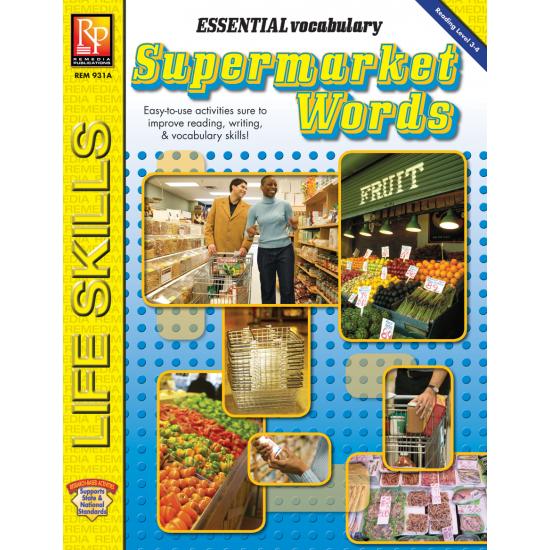 Essential Vocabulary: Supermarket Words