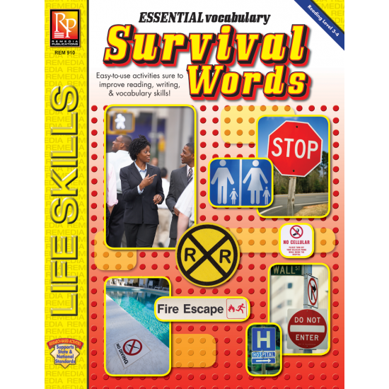 Essential Vocabulary: Survival Words