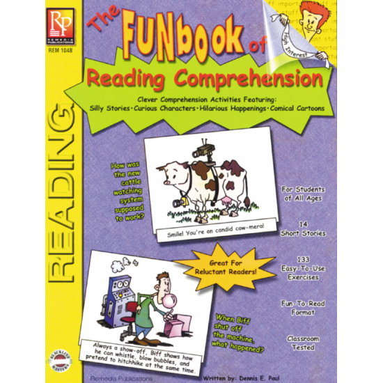 FUNbook of Reading Comprehension (Activity Book)