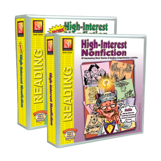High-Interest Nonfiction (Both Binders)