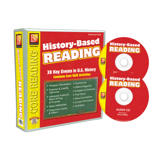 History-Based Reading (Binder, Audio CD, & Resource CD)