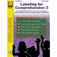 Labeling for Comprehension (Reading Level 2)