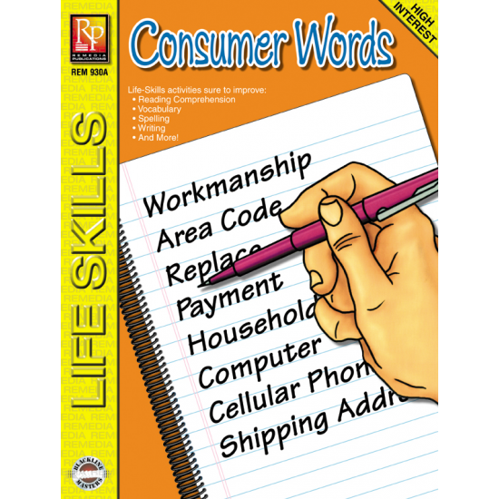 Life-Skill Lessons: Consumer Words