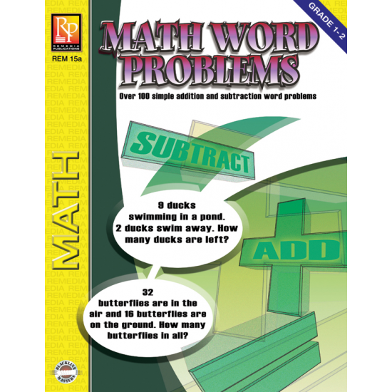 Math Word Problems (Gr. 1-2)