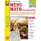 Menu Math for Beginners (Activity Book)