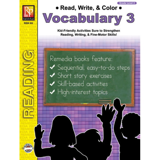Read, Write, & Color: Vocabulary 3