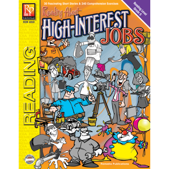 Reading About High-Interest Jobs (Reading Level 5)